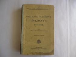 Egy 1908-as kiadású ritka évkönyv