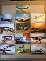 Malév-os képeslapok