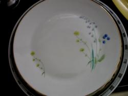 Virágos tál, tányér Schönwald 2.