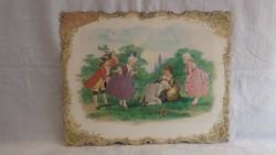 A. Wagner 1897 Wien domború papírnyomat