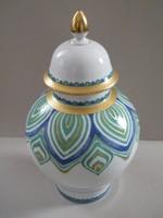 Gyönyörű retro Kaiser Estelle nagy méretű fedeles urnaváza