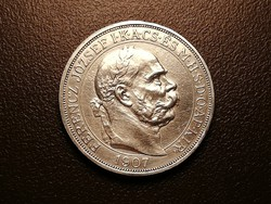 Ferenc József jubileumi 5 korona 1907