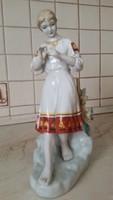 0M667 Nagy méretű orosz porcelán szobor 29.5 cm eladó!