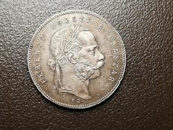 Ferenc József 1 forint 1869.Kb.patina!