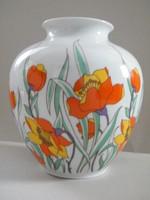 Nagyon szép retro Kaiser Harlem nagy méretű porcelán váza