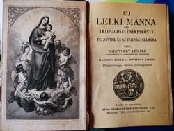 Uj Lelki Manna Imadsagos es Enekeskonyv 1915.