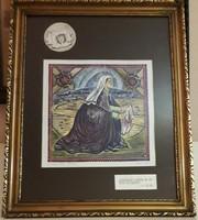 Tavaszy Noémi: Veronika  (linó) 1991/50/2.