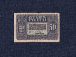 A Magyar Postatakarékpénztár Korna pénztárjegyei (1919-1920) 50 fillér bankjegy 1920