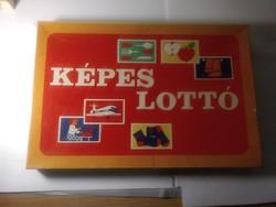 Képes lottó játék óvodai.