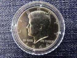 USA Kennedy ezüst (.900) 50 Cent 1964 BU/id 9883/