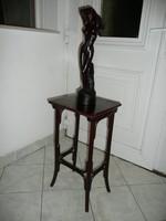 Antik eredeti osztrák kis méretű Thonet szobor tartó / posztamens / asztalka
