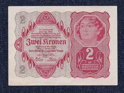 Osztrák 2 korona 1922 hajtatlan (id6560)