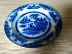 Antik Angol porcelán dísz tányér