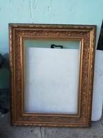 Antik képkeret, tükörkeret hatalmas.