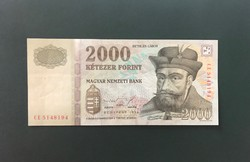 1998 CE 2000 Forint bankjegy
