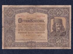 Magyarország, papír 50 Korona 1920/id 9718/
