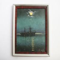L. Kofler festmény