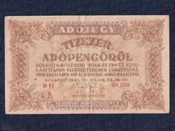 Adójegyek 10000 Adópengő bankjegy 1946/id 9889/