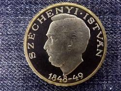 Széchenyi István ezüst (.500) 10 Forint 1948 PP BP/id 9885/
