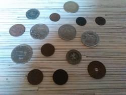 Vegyes kis pénz kupac
