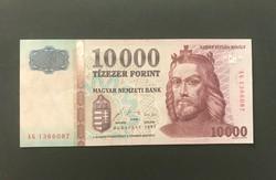 Gyönyörű 1997-es AG Tízezer Forint