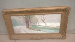 Szép festmény Bélaváry aláírással