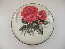 Nagyon szép, rózsás fémdoboz