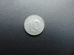 10 pfennig 1950 E Németország