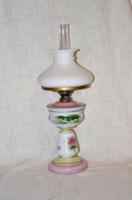 Kézi festett asztali petróleum lámpa ernyővel  ( DBZ 00122 )