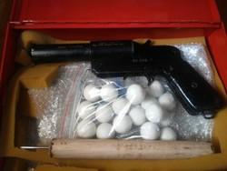 Gumilövedékes önvédelmi fegyver