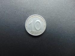 10 pfennig 1950 A Németország