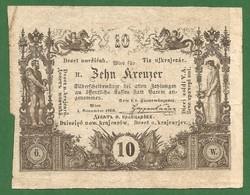 NAGYON SZÉP 10 KRAJCÁR 1860 ! VF