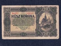 Kis címletű Korona államjegyek 20 Korona bankjegy 1920/id 9860/
