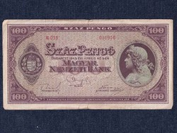 Háború utáni inflációs sorozat (1945-1946) 100 Pengő bankjegy 1945/id 9871/