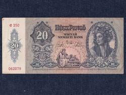 Háború előtti sorozat (1936-1941) 20 Pengő bankjegy 1941/id 9870/
