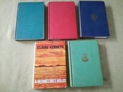 Claire Kenneth első kiadások,aláírt,számozott