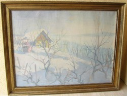CSÁKI-MARONYÁK JÓZSEF eredeti festménye Garanciával! (60 cm x 80 cm; olaj-vászon)