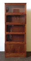 0W562 Régi 5 elemes Lingel szekrény könyvespolc