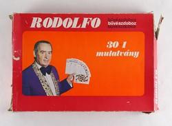 0X262 Retro RODOLFO bűvészdoboz TELJES