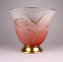 0X069 Régi Rosenthal porcelán váza 16 cm