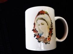 Szűz Máriás Medugorje emlék csésze 225.