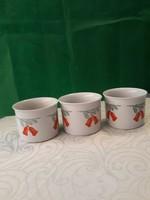Zsolnay kaspók m-11  sz-15 fenyő ág csengő motívummal eladó