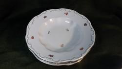 Antik Zsolnay tollazott tányér