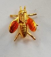 Retró méhecske bross 113.