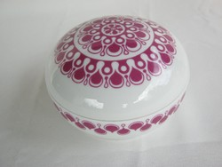 Retro Alföldi porcelán bonbonier