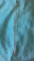 Női ezüst nyaklánc ametiszttel újszerű