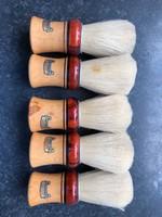 Régi német sörte borotvapamacs új állapotban