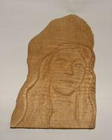 Kézi faragású falikép