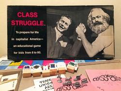 Class Struggle / Osztályharc: társasjáték (1978) - ritkaság!