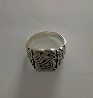 Viking motívumos férfi gyűrű